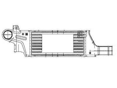 Hladilnik zraka Opel Corsa C 00-