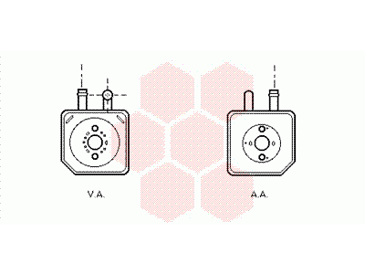 Hladnjak ulja Audi A4 00-04, Mobile Air