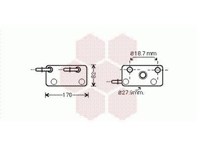 Hladnjak ulja BMW X3 E83 04-