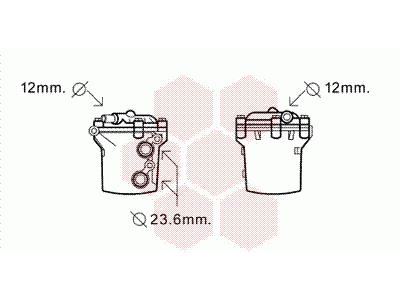 Hladnjak ulja Mercedes-Benz Sprinter 95-06