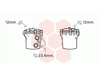 Hladnjak ulja Mercedes Sprinter 95-06