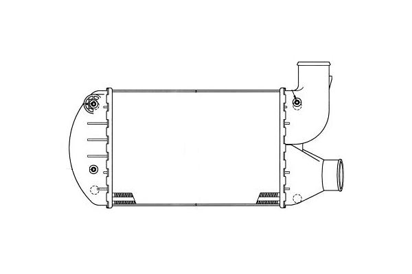 Hladnjak vazduha 1402J8-1 - Alfa Romeo 145 94-00