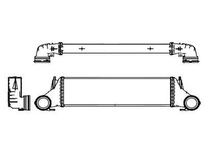 Hladnjak vazduha 2050J8-1 - BMW X5 99-07