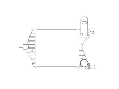 Hladnjak vazduha 3023J81X - Lancia Musa (350), OEM, 04-12