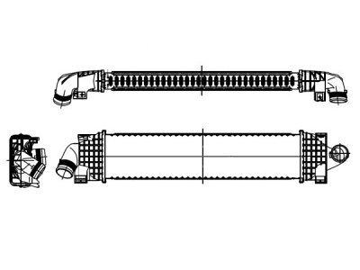 Hladnjak vazduha 3205J8A1 - FORD C-MAX, dizel, 11-15