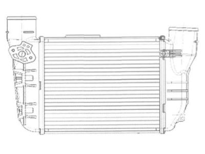 Hladnjak vazduha Audi A4 1.8T 02- MT/AT