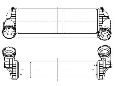 Hladnjak vazduha BMW X5 (F15), 13-