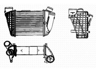 Hladnjak vazduha Chrysler Voyager 01-08
