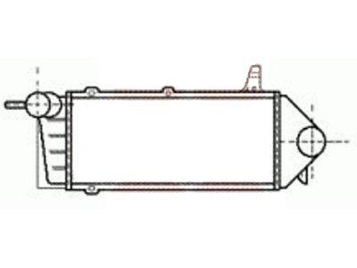 Hladnjak vazduha Ford Scorpio 88-94
