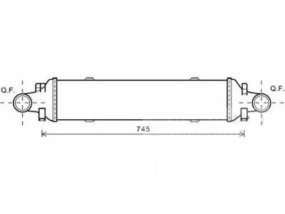 Hladnjak vazduha Mercedes-Benz Razred GLK 08-15
