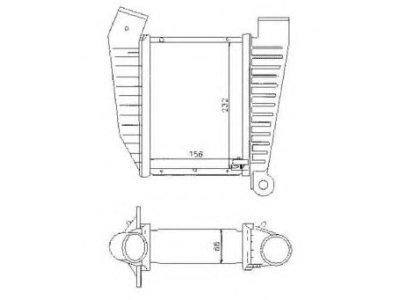 Hladnjak vazduha Opel Omega B 94-