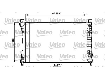 Hladnjak vode 500308-2 - Mercedes-Benz Razred CLK (C209) 02-10
