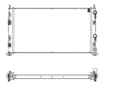 Hladnjak vode Chrysler Sebring 00-