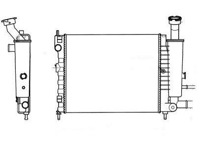 Hladnjak vode Citroen AX 86-91