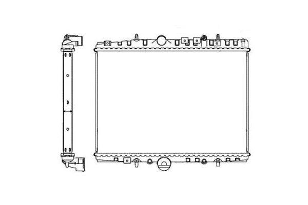 Hladnjak vode Citroen C5 00-04 automatic