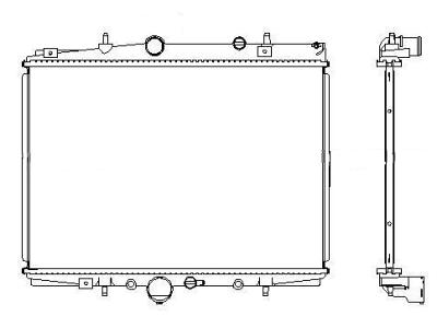 Hladnjak vode Citroen C5 01-04