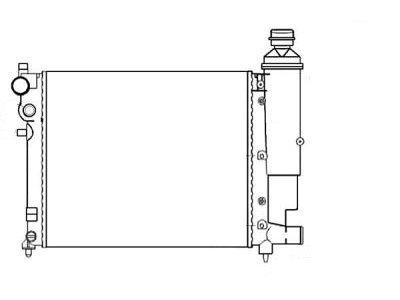 Hladnjak vode Citroen Saxo 01-03