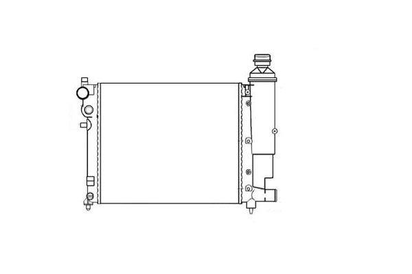 Hladnjak vode Citroen Saxo 95-01