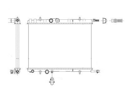 Hladnjak vode Citroen Xsara 01-02