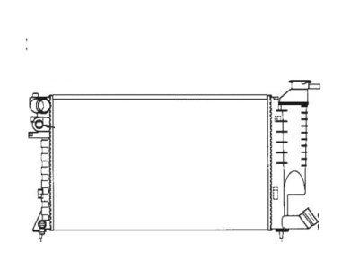 Hladnjak vode Citroen Xsara/Peugeot 306 98-01 klima