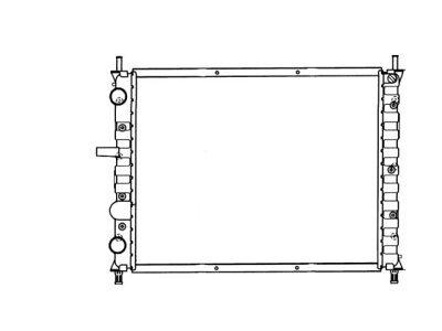 Hladnjak vode Fiat Bravo 1.9D 95-