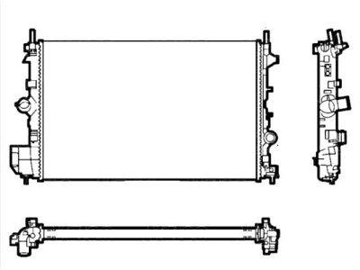 Hladnjak vode Fiat Croma 05- 2.4 MJTD