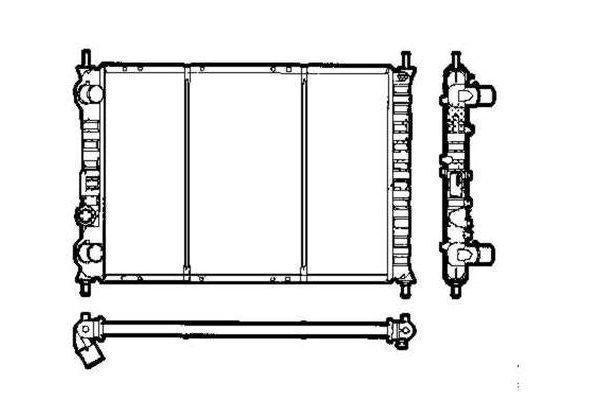 Hladnjak vode Fiat Marea 1.9 TD 96-00