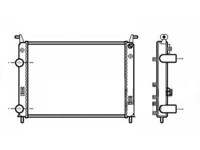 Hladnjak vode Fiat Palio 00- 520x370