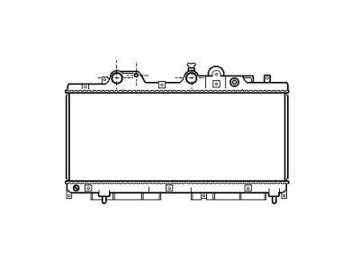 Hladnjak vode Fiat Punto diesel 93-99 klima