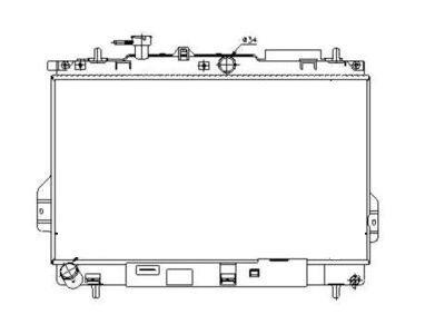 Hladnjak vode Hyundai Matrix 01-
