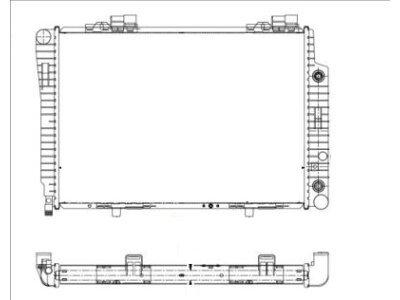 Hladnjak vode Mercedes-Benz C-Klasa W202 93-00