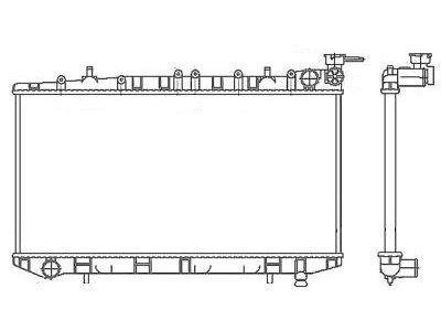 Hladnjak vode Nissan Almera 96-00