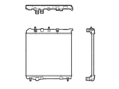 Hladnjak vode Peugeot 207 06-