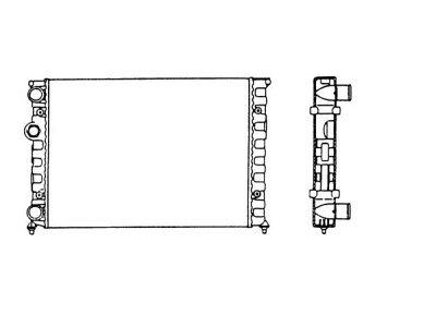 Hladnjak vode Volkswagen Scirocco 82-92