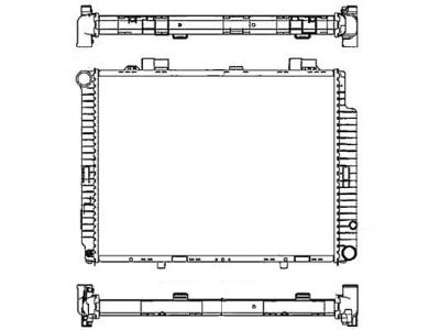 Hladnjak vodeMercedes-Benz E-Klasa W210 CDI 98-02