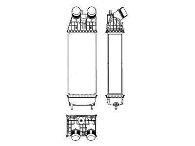 Hladnjak zraka 5724J82X - CITROEN C3, OEM 10-