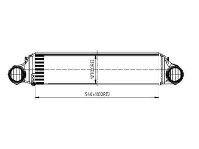 Hladnjak zraka BMW Serije 3 (E46) 98-06
