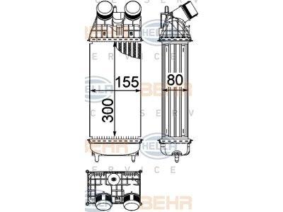 Hladnjak zraka CITROEN DS4, 11-