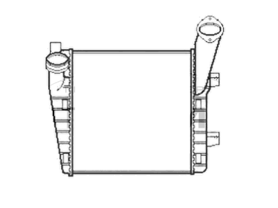 Hladnjak zraka Volkswagen Touareg 02-
