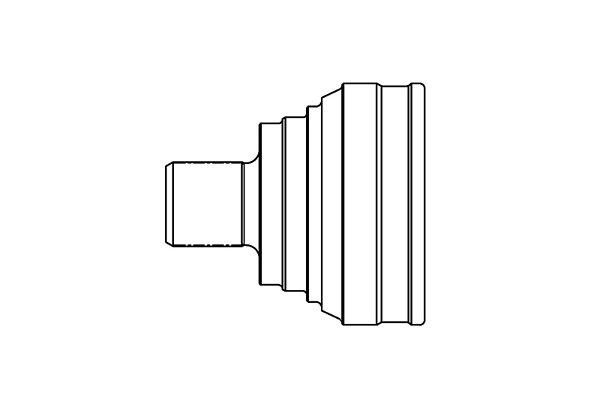 Homokinetički zglob (spoljašnji) S40-1002 - Audi, Volkswagen
