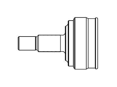 Homokinetični zglob (spoljašnji) S40-1011 - Audi A3 96-03