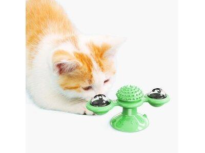 Igrača za mačke, vrtljiva