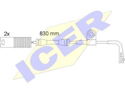 Indikator Abnutzung BMW 5 E39 95-03