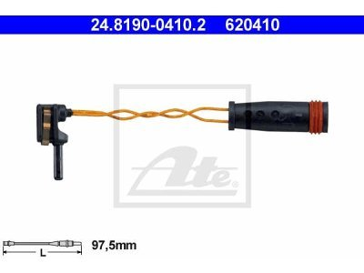 Indikator iskorištenosti Mercedes-Benz GLK-Klasa (X204) 08-
