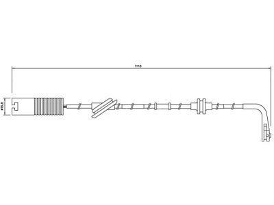 Indikator iskorištenosti (naprijed) Rover 75 99-05