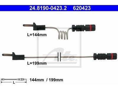 Indikator iskorištenosti (natrag) Mercedes-Benz Sprinter 01-06