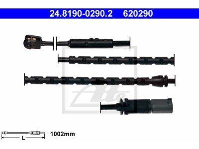 Indikator iskorištenosti (pozadi) BMW X5 07-