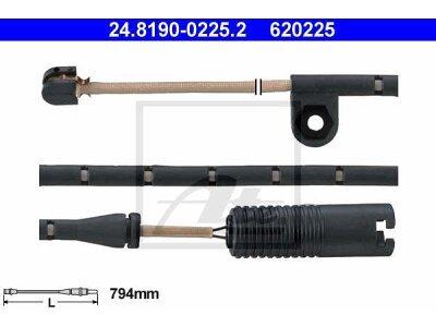 Indikator obrabe (spredaj) BMW X5 (E53) 00-06