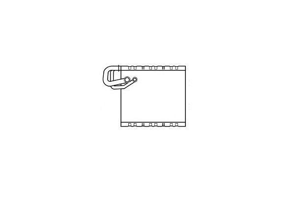 Isparivač 5065P8-2 - Mercedes Sprinter 06-
