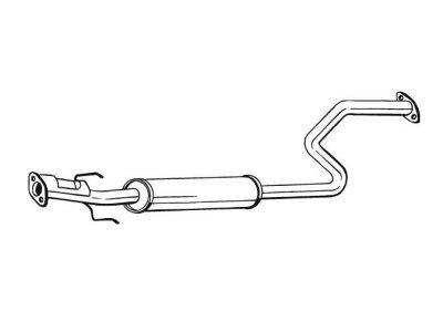 Izduvni lonac Rover 45 00-05, srednji lonac